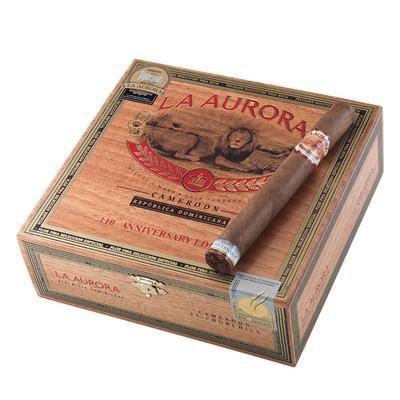 La Aurora 110th Anniversary Cameroon Churchill - CI-LC1-CHUN - 400