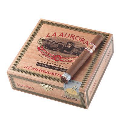 La Aurora 110th Anniversary Cameroon Corona - CI-LC1-CORN - 400