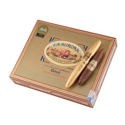 La Aurora Preferidos Gold Dominican Corojo #2 Tubes - CI-LCJ-GOLN8 - 75