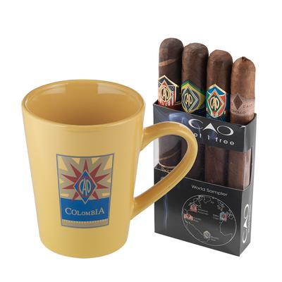 CAO World Sampler With Mug - CI-LIQ-CAOWM - 400