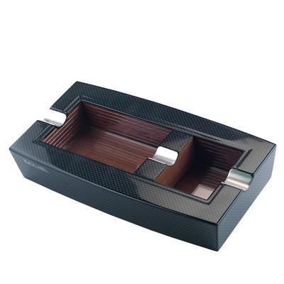 Black Label Carbon Fiber Ashtray-AT-LTS-LBLASH3 - 400