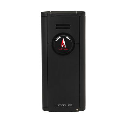 Lotus Citadel Flat Lighter Black - LG-LTS-CITBLK - 75