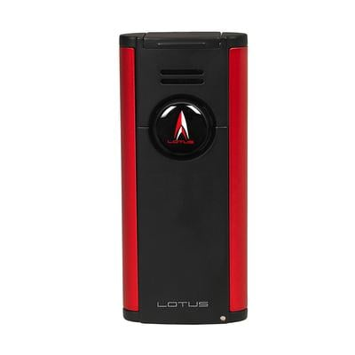 Lotus Citadel Flat Lighter Red - LG-LTS-CITRED - 75