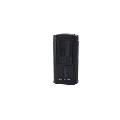 Lotus Duke Cigar Cutter Lighter Black Matte - LG-LTS-DCCBLK
