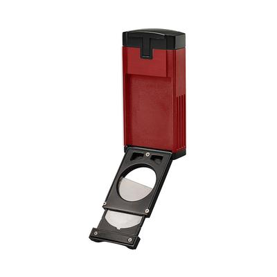 Lotus Duke Cigar Cutter Lighter Red - LG-LTS-DCCRED - 400