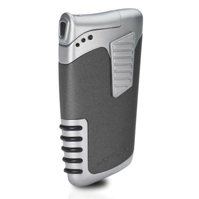 Lotus Double Down Dual Flame Lighter Grey Matte - LG-LTS-DDGRY - 400