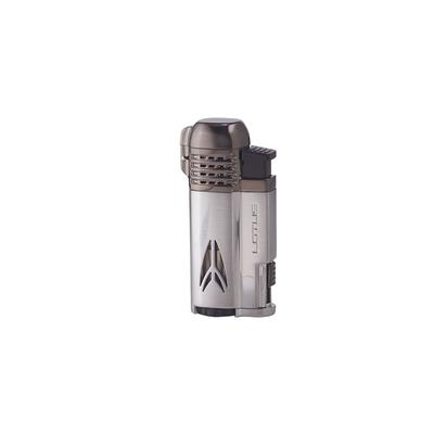 Lotus Defiant Lighter Chrome Satin & Dark Gunmetal Satin - LG-LTS-DEFCHGN - 75