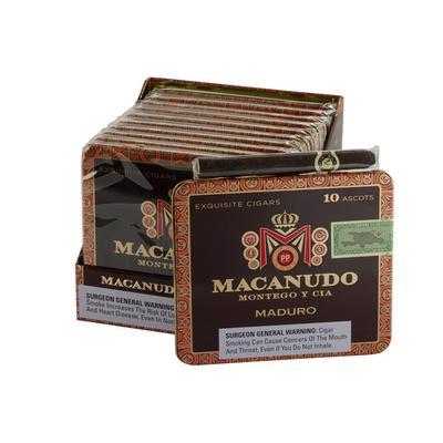 Macanudo Maduro Ascot 10/10 - CI-MAM-ASCOTM - 400