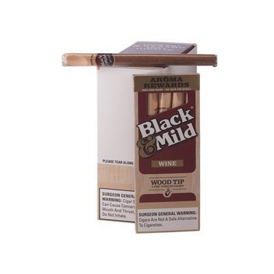 Black & Mild By Middleton Wine Wood Tip 10/5 - CI-MID-WINWDPK - 75