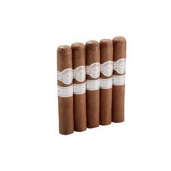 Montecristo White Rothschilde 5 Pack - CI-MTW-ROTN5PK - 400