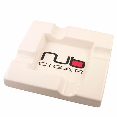 Nub Cigar Ashtray-AT-NUB-WHITE - 400