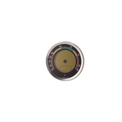 Oasis Caliber 4R Hygrometer Silver - HY-OAS-CAL4RS - 400