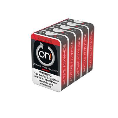 ON! Cinnamon 8MG (5 Tins)-NP-ON!-CIN8MG - 400