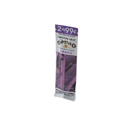 Optimo Cigarillo Grape (2) - CI-OPT-GRAPE99Z - 75