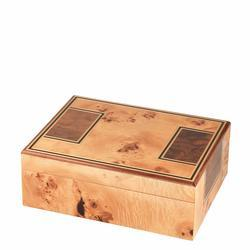 Toulouse Birdseye Maple 25 Count Humidor - HU-ORL-TOUL25 - 400