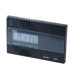 Digital Thermo-Hygrometer Black - HY-ORL-DIGBLK - 400