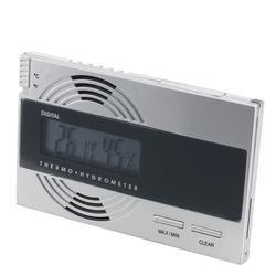 Digital Thermo-Hygrometer Silver - HY-ORL-DIGSLV - 400