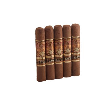 Perdomo Estate Seleccion Vintage Connecticut Regente 5 Pack - CI-PE3-REGN5PK - 75