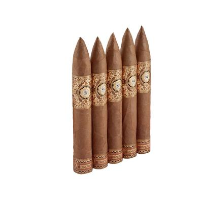 Perdomo Habano Connecticut Barrel Aged Torpedo 5 Pack - CI-PHC-TORPN5PK - 75