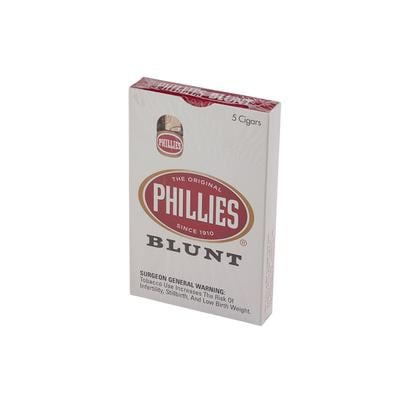 Phillies Blunt 5 Pack - CI-PHI-BLUNPKZ - 400