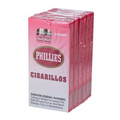 Phillies Cigarillos Strawberry 6/5 - CI-PHI-STWPK - 400