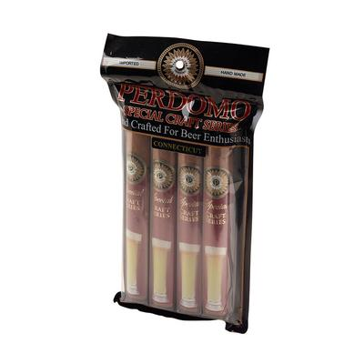 Perdomo Craft Series Connecticut Humidified Bag 4 Pack - CI-PPI-HB4PK