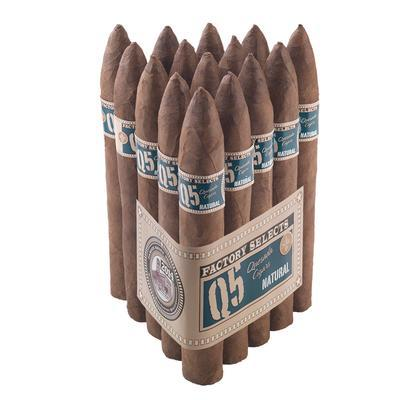 Quesada Factory Selects Q5 Natural Belicoso - CI-QF5-BELN - 400