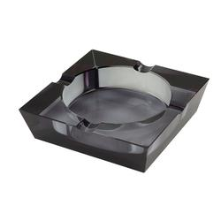 Crystal Black Tint Ashtray - AT-QIT-CA4CBLK - 400