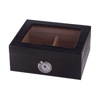 Capri Glass Top Black Oak-HU-QIT-CAPGLBLK - 400