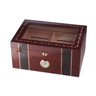 Pompeii Glass Top Humidor