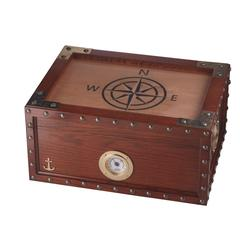 Quality Importers Maiden Voyage 100 Count Humidor - HU-QIT-VOYAGE - 400