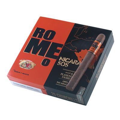 Romeo 505 Nicaragua by Romeo y Julieta Churchill - CI-RNR-CHUN - 400
