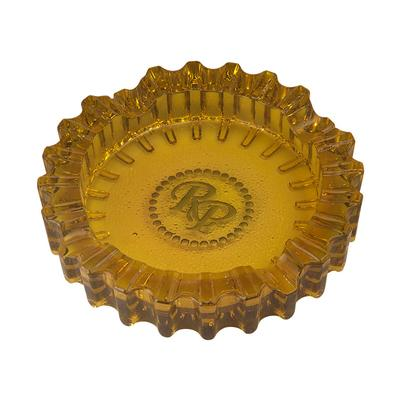 Rocky Patel Luxury Luminoso Amber Ashtray - AT-RP-LUXAMB