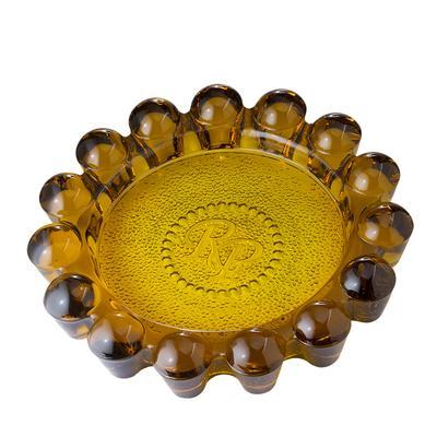 Rocky Patel Luxury Circulos Amber Ashtray - AT-RP-LUXCRAMB - 400