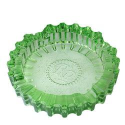 Rocky Patel Luxury Luminoso Green Glass Ashtray - AT-RP-LUXGRN - 400