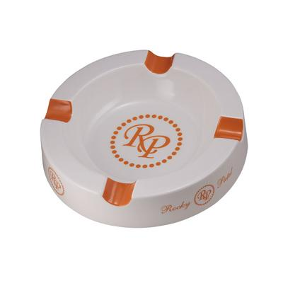 Rocky Patel Round Ceramic Ashtray - AT-RP-ROUND - 400