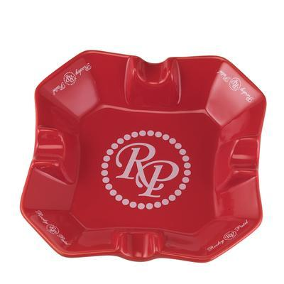 Rocky Patel Desktop Square Red Ashtray - AT-RP-SQRED - 400