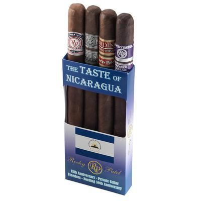 Rocky Patel Accessories and Samplers RP Taste Of Nicaragua 4 Toro - CI-RP-TONICTOR - 400