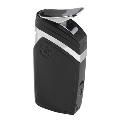 Rocky Patel Trigger Double Jet Torch Lighter - LG-RP-TRIGBLK - 400