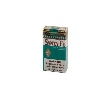 Santa Fe Filtered Menthol (20) - CI-SFE-MENTHOLZ - 400