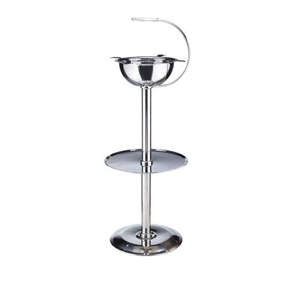 Stinky Floor Stand Stainless Steel Ashtray - AT-STC-FLRSST - 400
