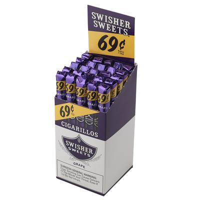 Swisher Sweets Cigarillos Grape 69c - CI-SWI-CI25GRP - 75