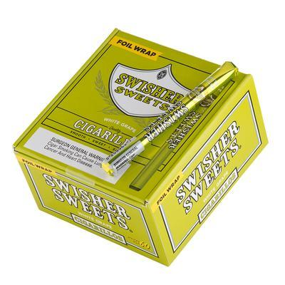 Swisher Sweets Cigarillos White Grape 69c - CI-SWI-CIWHG - 400