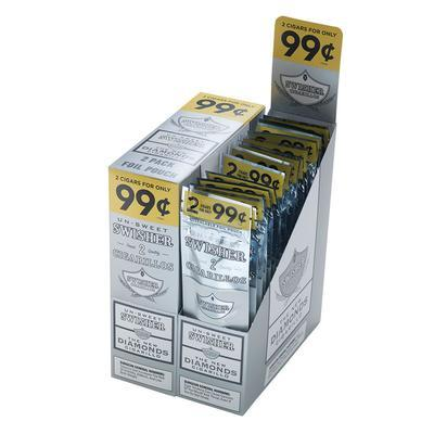 Swisher Diamonds Cigarillo 2 For 99cents - CI-SWI-DIA99 - 400