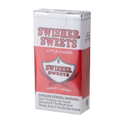 Swisher Sweets Little Cigar Cherry (20) - CI-SWI-LCCHEPKZ - 400