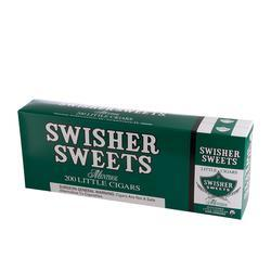Swisher Sweets Little Cigars Menthol 10/20 - CI-SWI-LCMENPK - 400
