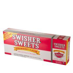 Swisher Sweets Little Cigar Strawberry 10/20 - CI-SWI-LCSTWPK - 400