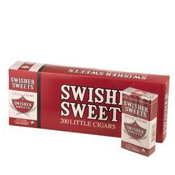 Swisher Sweets Little Cigars Regular 10/20 - CI-SWI-LTCIGPK - 400