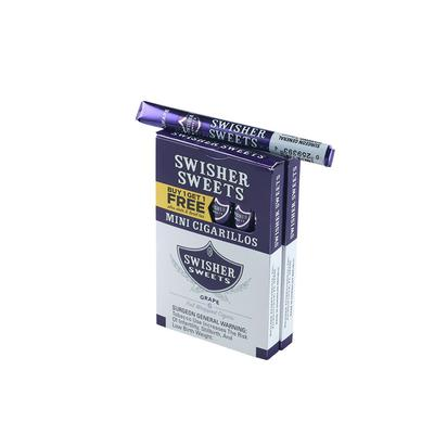 Swisher Sweets Mini Cigarillos B1G1 Grape (12) - CI-SWI-MGB1G1Z - 400