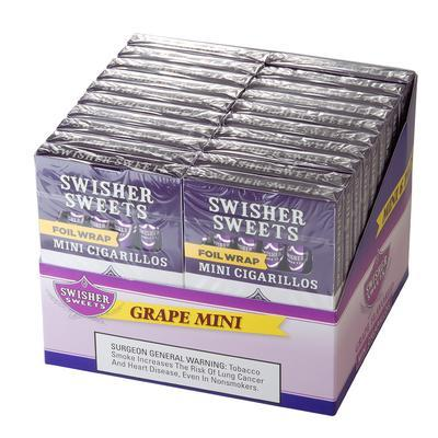 Swisher Sweets Mini Cigarillos Grape 20/6 - CI-SWI-MIGRPPK - 400